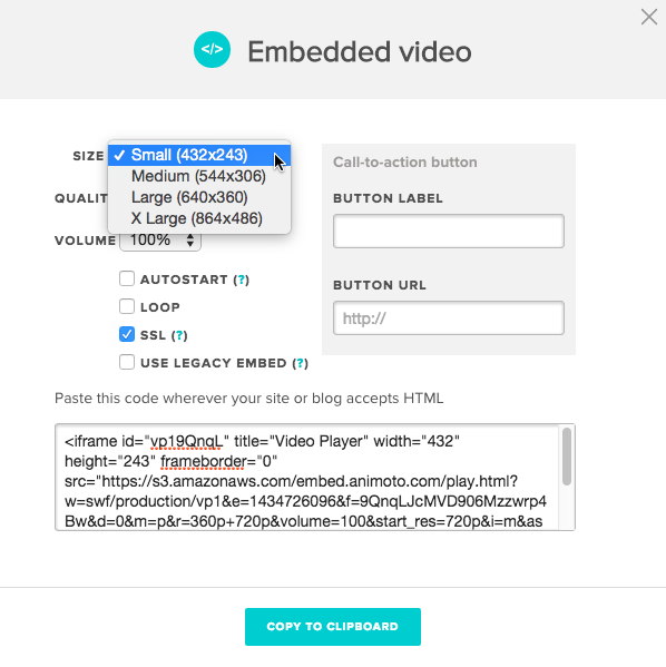 How to modify your embed code to support custom video sizes ...